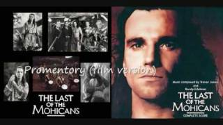 Last of the Mohicans soundtrack - Promentory (film version)