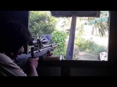 ปืนล่าสัตว์ PCP Gun อัดลมเบอร์ 2 FPS1200
