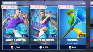 The SOCCER SKINS Returning in Fortnite..