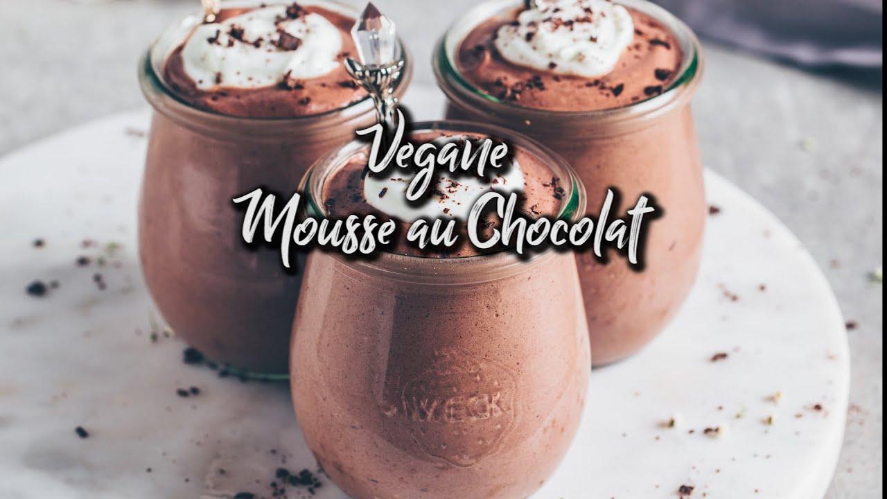 Vegane Mousse au Chocolat mit Aquafaba *Rezept