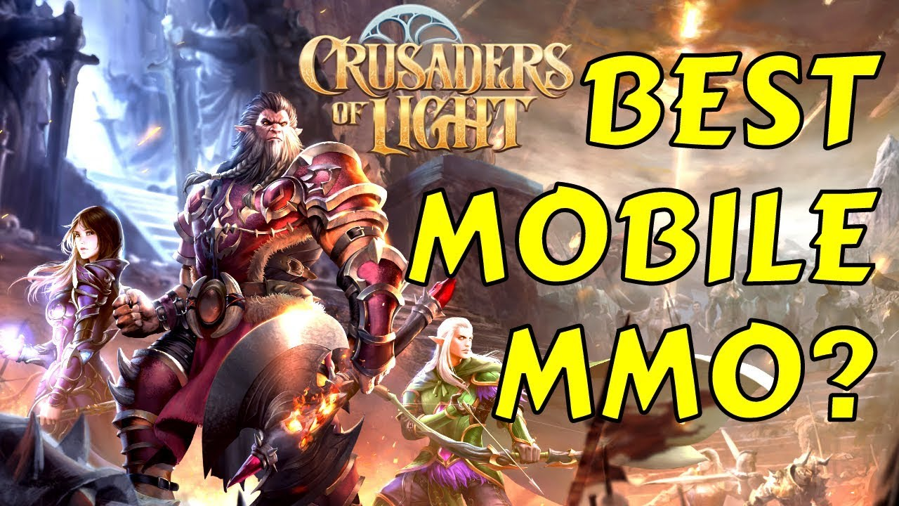 Crusaders of Light - BEST MOBILE MMORPG FIRST IMPRESSIONS