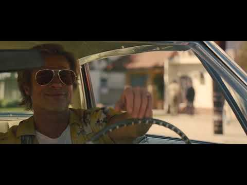 4 Minutes Of Brad Pitt Driving - Once Upon A Time In Hollywood