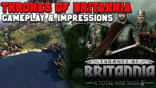 Thrones of Britannia Impressions & Gameplay Footage (Updated Sieges, Progression & more!)