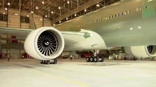 EVA Air - Time-lapse New 777-300ER Assembling and Painting