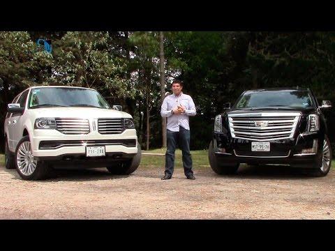 Lincoln Navigator 2015 y Cadillac Escalade 2015, una comparativa de SUVs de lujo | Autocosmos