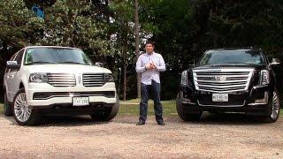 Lincoln Navigator 2015 y Cadillac Escalade 2015, una comparativa de SUVs de lujo