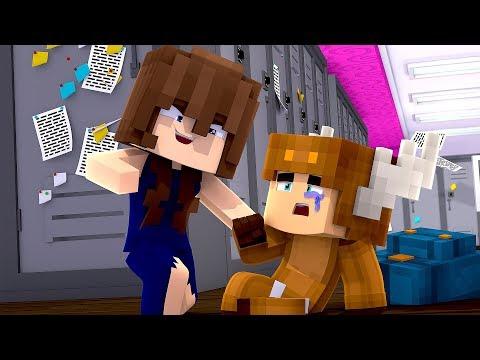 Minecraft Daycare - GIRLFRIEND BULLIES MOOSECRAFT! (MINECRAFT ROLEPLAY)