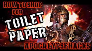 How to Shop For Toilet Paper: Apocalypse Hacks | Dawn of the Dude: Dorito Rising Ep. 3