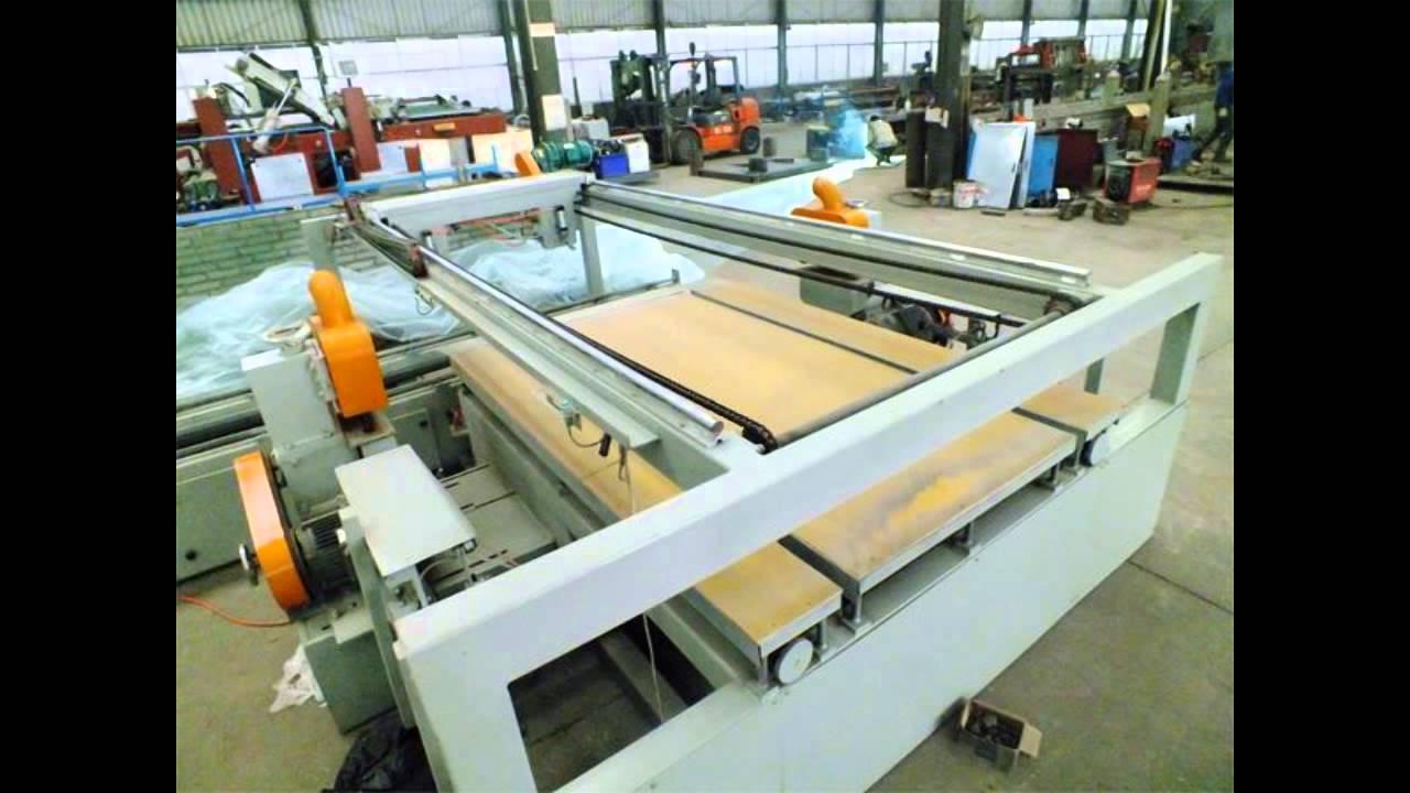 Plywood Cutting Machine ~ Plywood cutting saw machine youtube