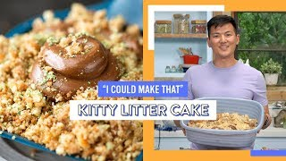 Kitty Litter Cake | I Could Make That