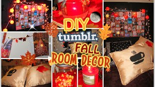 Diy Tumblr Inspired Fall Room Decor For Teens | Cute And Cozy | Cartneybreanne