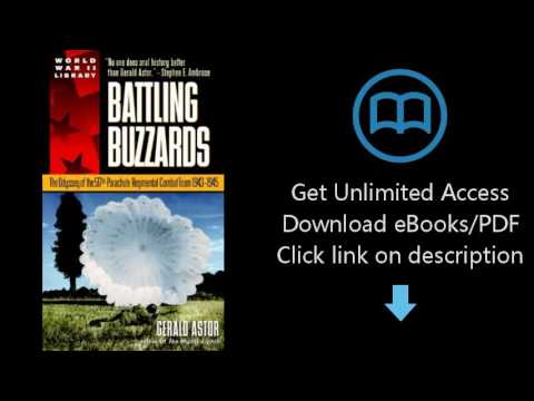 Download Battling Buzzards: The Odyssey of the 517th Parachute Regimental Combat Team 1943-1 [P.D.F]