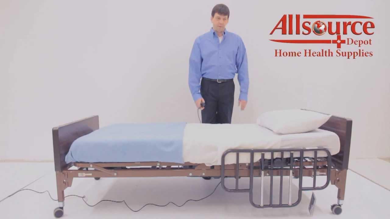 Drive Ultra Light 1000 Hospital Bed Assembly - YouTube