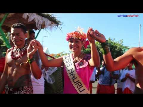 Float parade heralds 30 years of Miss Pacific pageant