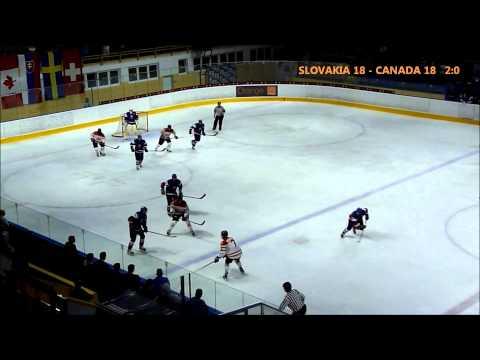 SLOVAKIA U18 - CANADA U18 / 3rd period