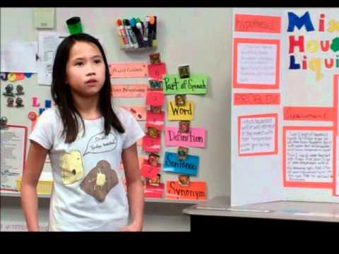 4th Grade Science Fair Projects Youtube