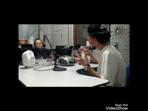 Hurricane013 em entrevista na Rádio AmigA FM (87,9) JRMC
