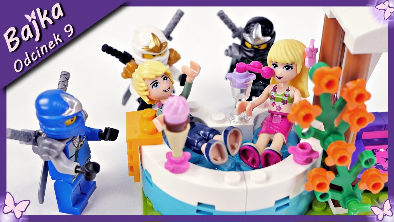 Szalona Impreza W Domu Stephanie Bajka Po Polsku Z Klocków Lego