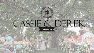 Triple S Ranch Napa Calistoga Wedding Video