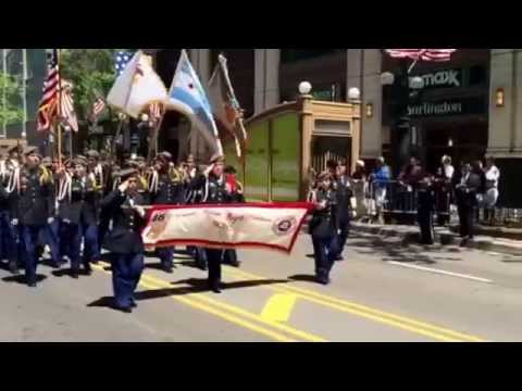 CHICAGO'S 2015 MEMORIAL DAY PARADE DOWN STATE STREET