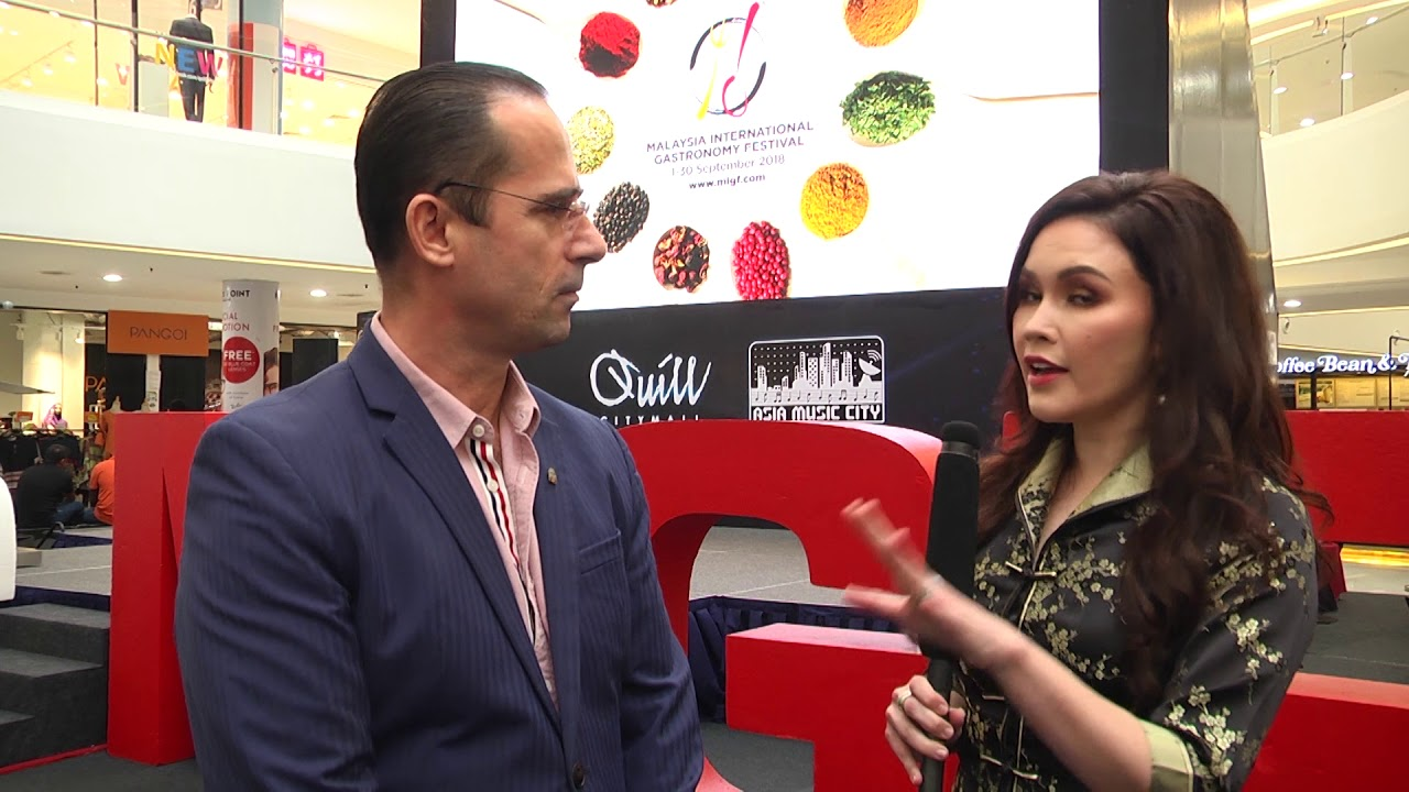 MIGF 2018 Interview Mondi Mecja, Area General Manager Berjaya Hotels &  Resorts
