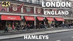⁴ᴷ STORE TOUR | Virtual Walk around Hamleys, London England
