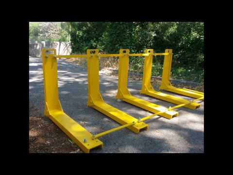 Modular vehicle barrier stop terror vehicle