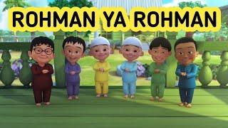 Gambar cover ROHMAN YA ROHMAN - UPIN DAN IPIN FULL LIRIK | NISSA SABYAN GAMBUS