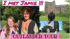 Outlander Tour | I met Sam Heughan! | Outlander Season 4 - Behind the Scenes | SCOTLAND