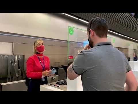 Primeiro embarque oficial com reconhecimento facial no aeroporto de Brasília