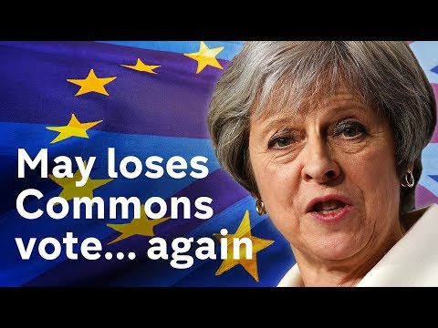 Fresh blow to PM's Brexit plan after huge defeat by Brexiteers