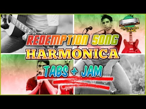 Redemption Song: HARMONICA TABS + Jam Track
