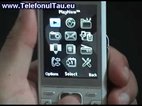 Sony Ericsson C903 Review ( in Romana )