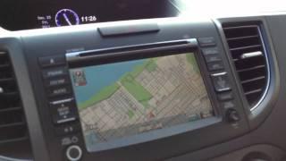 The All New 2012 Honda CR-V Review тест драйв part 2