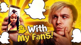 Snapchat with my Subscribers!
