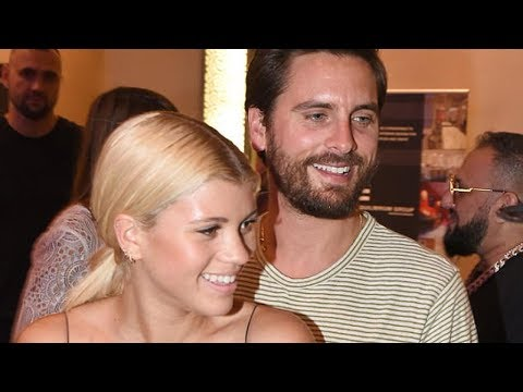 Scott Disick & Sofia Richie Go PDA CRAZY in Front of Cameras at Art Exhibition