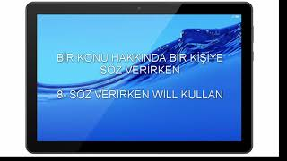 Be Going To-Will Farkı