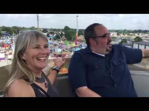Kristi Lee and Josh Arnold Visit the State Fair