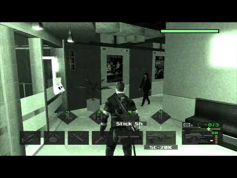 Splinter Cell - Pandora Tomorrow - Stealth Walkthrough - Par