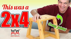 Make This Utility Step Stool From A Single 2x4