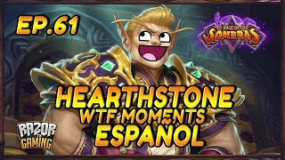 MEJORES MOMENTOS HEARTHSTONE ESPAÑOL 61