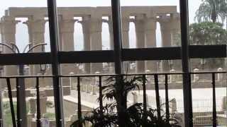 Mac Donald´s Luxor Tempel Egypt Mc Donald Big Mac