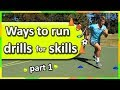 Lesson ideas: Ways to run drills for the skills › Part 1 (K-6) | Teaching Fundamentals of PE