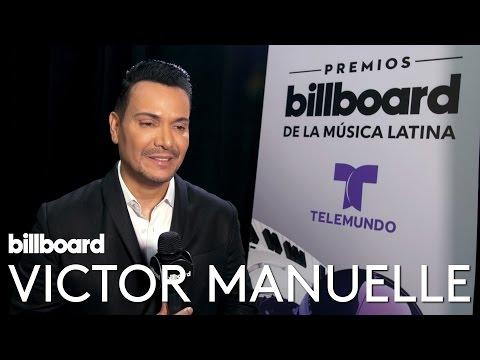 Víctor Manuelle Interview   Backstage at Latin Music Awards 2016