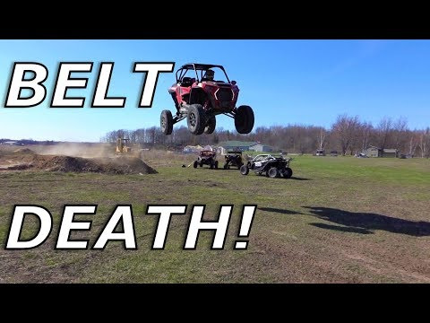 RZR Turbo S belt goes BYE BYE! X3 belt for the win?