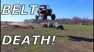 Download RZR Turbo S belt goes BYE BYE! X3 belt for the win? Mp3 and Videos