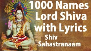 Mahashivratri Special, Shiv Sahashtranaam with Lyrics 1000 names of Lord Shiva By Chand Kumar