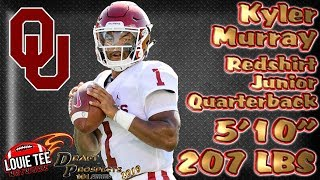 2019 NFL Draft Prospects 101 | Film Session | QB Kyler Murray