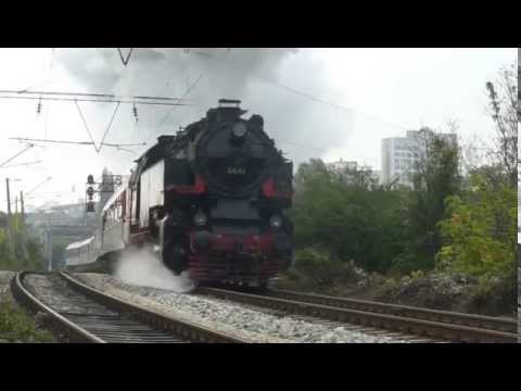 Biggest tank locomotive in Europe: BDZ 46.03 with trains to Bankya