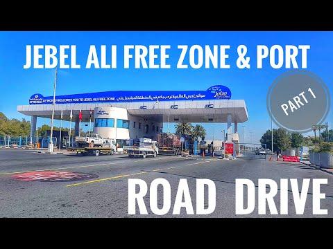 JEBEL ALI FREE ZONE &PORT🇦🇪2020[PART 1]